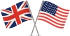 UK and US flags