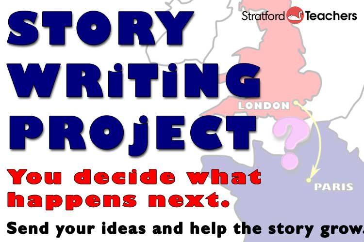 Story Writing Project - Send your ideas and help the story grow.