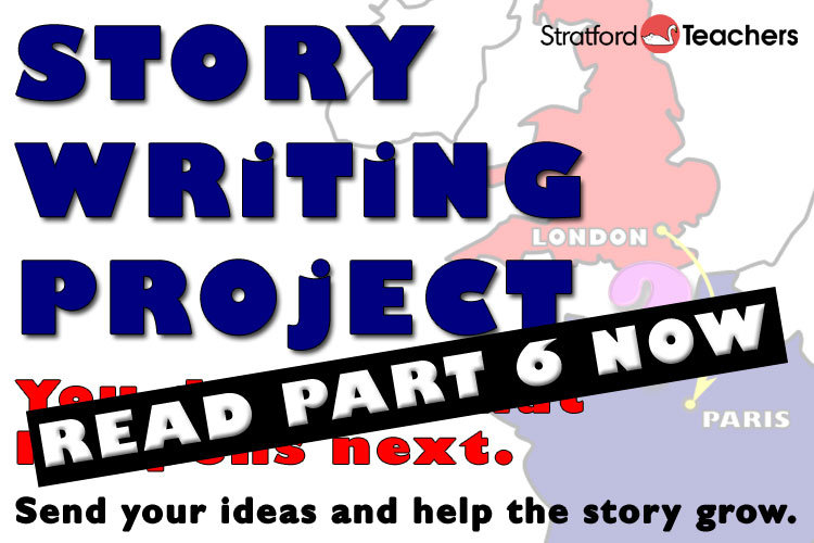 Story Writing Project - part 6