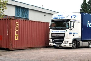 Shipping container - trade