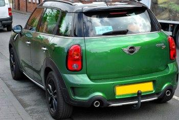 """Green"" car"